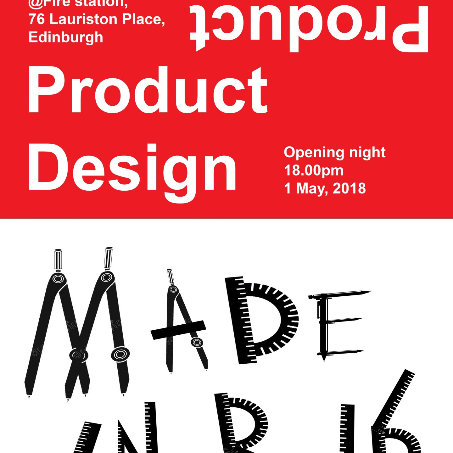 Product design Exhibition: Made in R.16